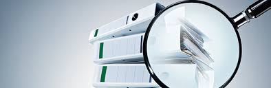 Examination of documents on economic activity of enterprises and organizations