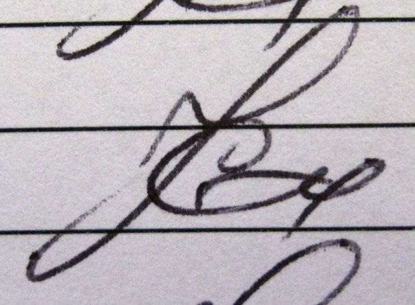 """""""The study of handwriting and signatures"""""""